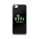 SAD TEENS HAPPY PLANTS-KAWAII GRUNGE iPhone case (5, 5s, 6, 6plus, 7, 7Plus)