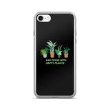 SAD TEENS HAPPY PLANTS-KAWAII GRUNGE PHONE CASE