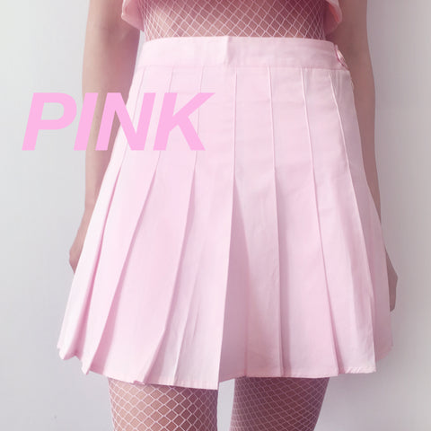 PROMOTION SALE - FINAL PINK TENNIS SKIRT