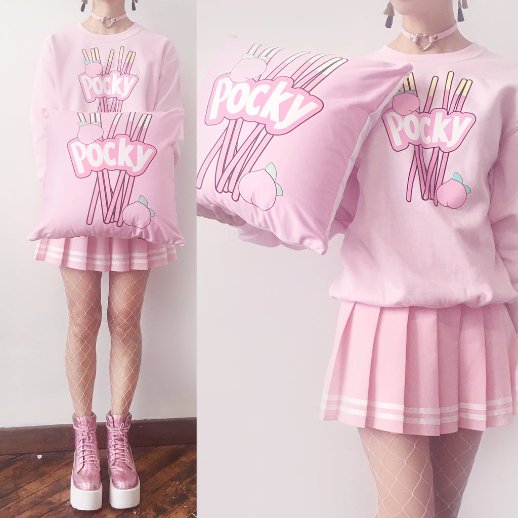LIMITED ITEM SALE -POCKY UNISEX JUMPER or POCKY OUTFIT SET