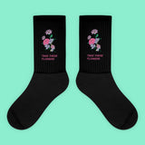 KOKO - TAKE THESE FLOWERS SOCKS (MADE IN USA- SWEATSHOP-FREE)