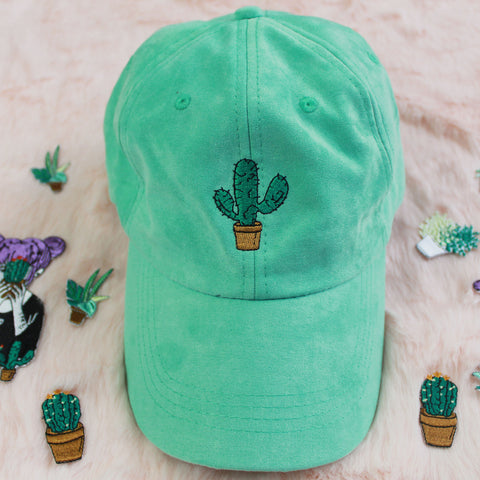 SAMPLE- CACTUS SUEDE FEEL CAP