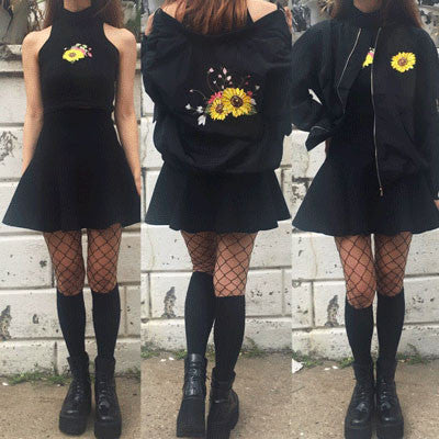 SOFT GRUNGE - SUNFLOWER KOKO TOP