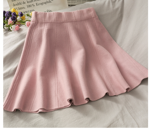 KAWAII baby pastel Tumblr High Waisted Skirt