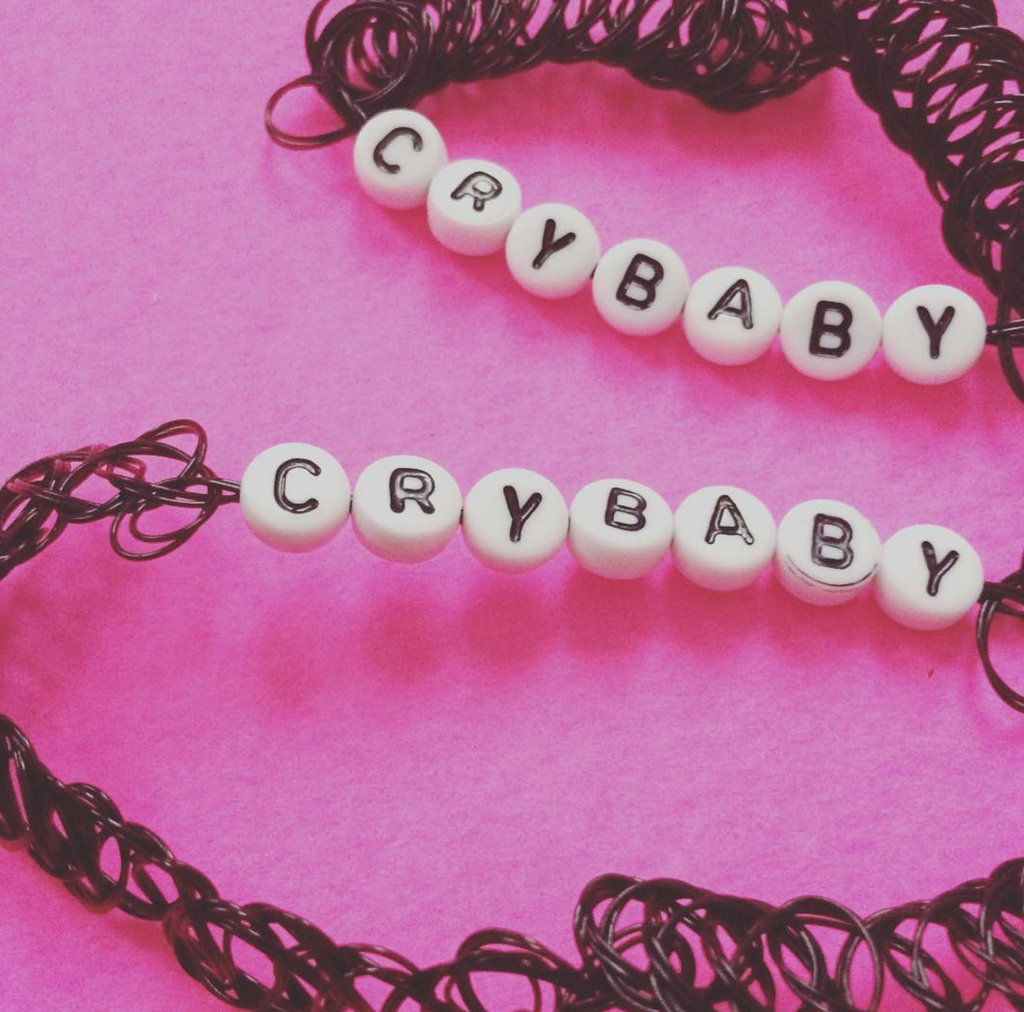 Valentine's Day SALE-CRYBABY  CHOKER -FLASH SALE