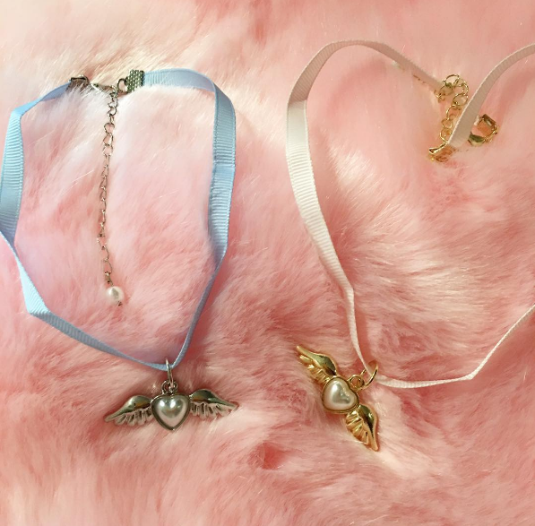Valentine's Day SALE -Angel Pastel choker