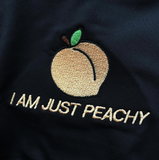 I AM JUST PEACHY Crop Top- FLASH SALE