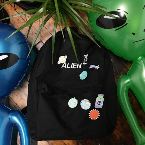 BLACK ALIEN BACKPACK