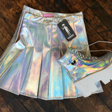2 YEAR ANNIVERSARY SALE -KOKO TUMBLR GIRL holographic skirt