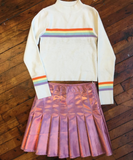2017 BLACK FRIDAY-KOKO TUMBLR GIRL holographic skirt