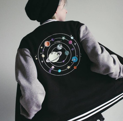 VALENTINE'S DAY SALE- SOLAR KOKO BASEBALL JACKET