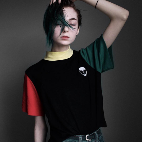 90S KIDS PRIME COLOR BLOCK Tee ( FREE PROMOTION EVENT BY KOKO )