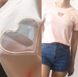 FINAL - Kawaii heart peach top