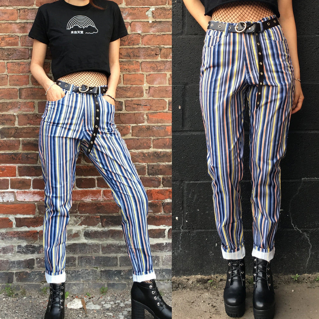 2018 NEW! 90S GRUNGE VINTAGE High waist Trousers