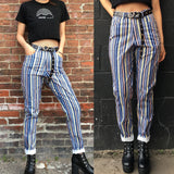 NEW! 90S GRUNGE VINTAGE High waist Trousers