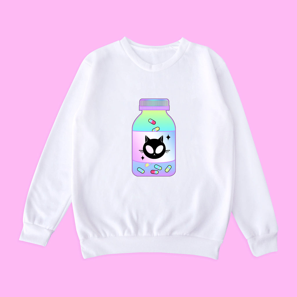 2017 BLACK FRIDAY-Alien Cat Chill Jumper