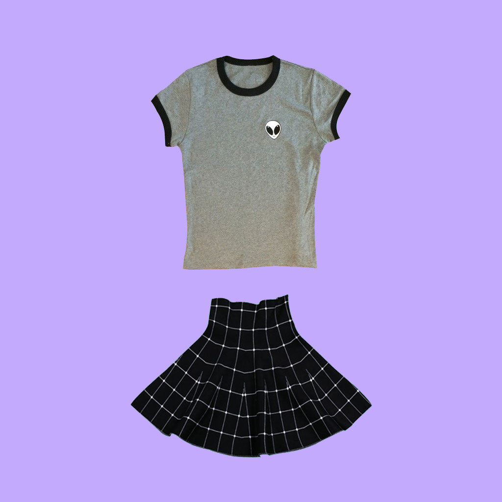 PROMOTION KOKOPIE ALIEN TOP & SKIRT set