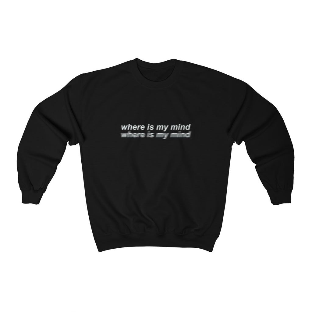Where is my mind -Unisex Crewneck Sweatshirt