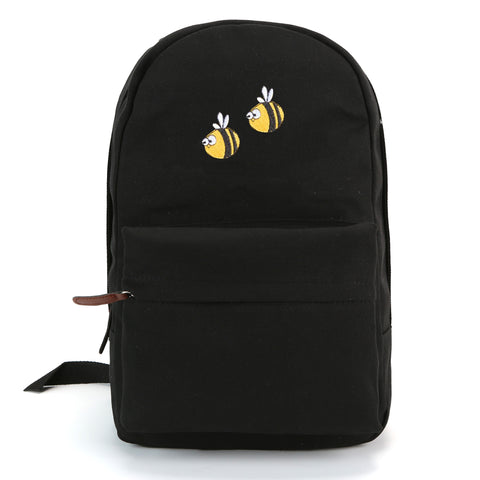 BEE HAPPY TOUBLE HAPPINESS  backpack