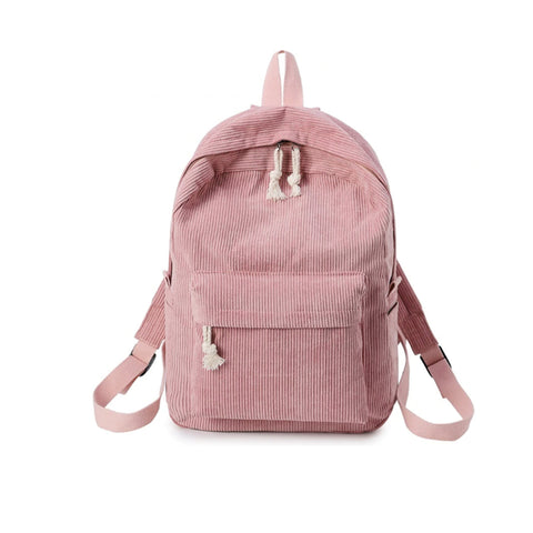 2019 kawaii corduroy backpack