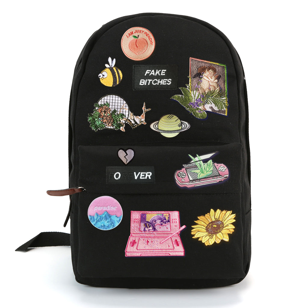 TUMBLR VAPORWAVE ART PATCH Backpack
