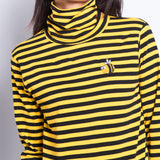 BEE HAPPY BEE SUNSHINE 2019 TURTLENECK TOP