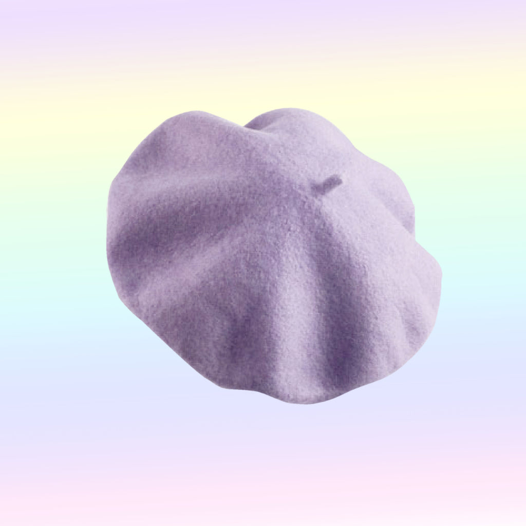 SOFTY LAVENDER BERETS