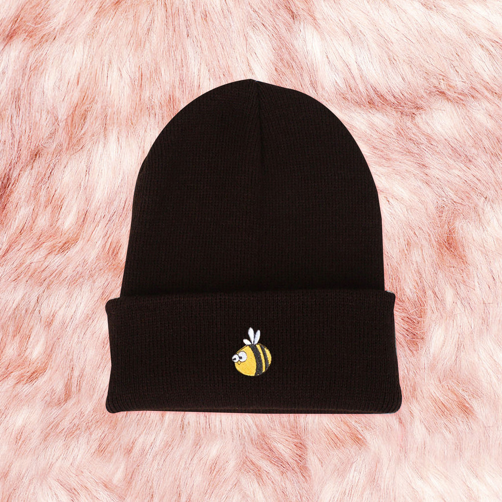 Sample- BEE HAPPY UNISEX KOKO WINTER BEANIE