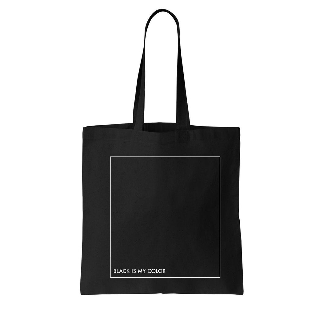 BLACK SOUL TOTE BAG
