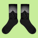 KOKO - BLACK PARADISE SOCKS (MADE IN USA- SWEATSHOP-FREE)