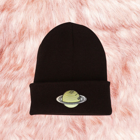 FREE SHIP-2019 SATURN - OUTER SPACE UNISEX KOKO WINTER BEANIE