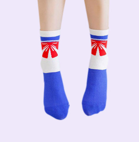 BOW SAILORMOON SOCKS