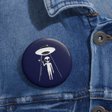 LONER -ALIEN KOKO Pin Buttons