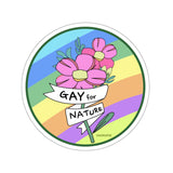 KOKO-LOVE IS LOVE Collection Gay for Nature Rainbow sticker