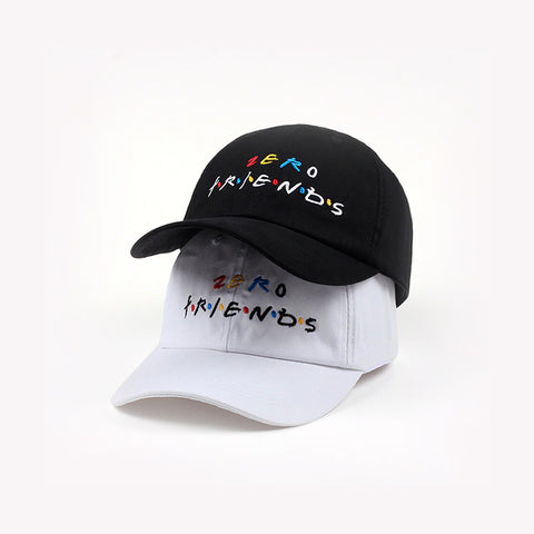 NO FRIENDS DAD CAP