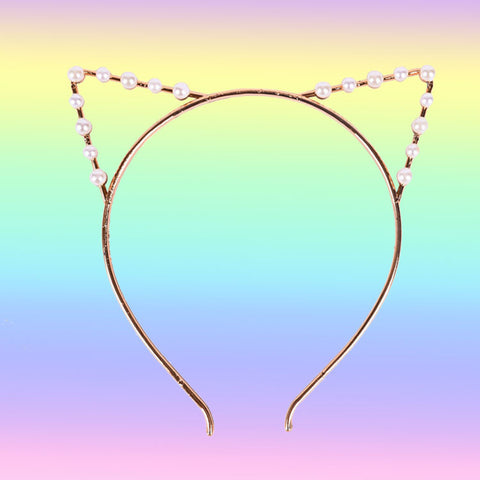 Valentine's Day SALE-CAT EAR HEAD BAND