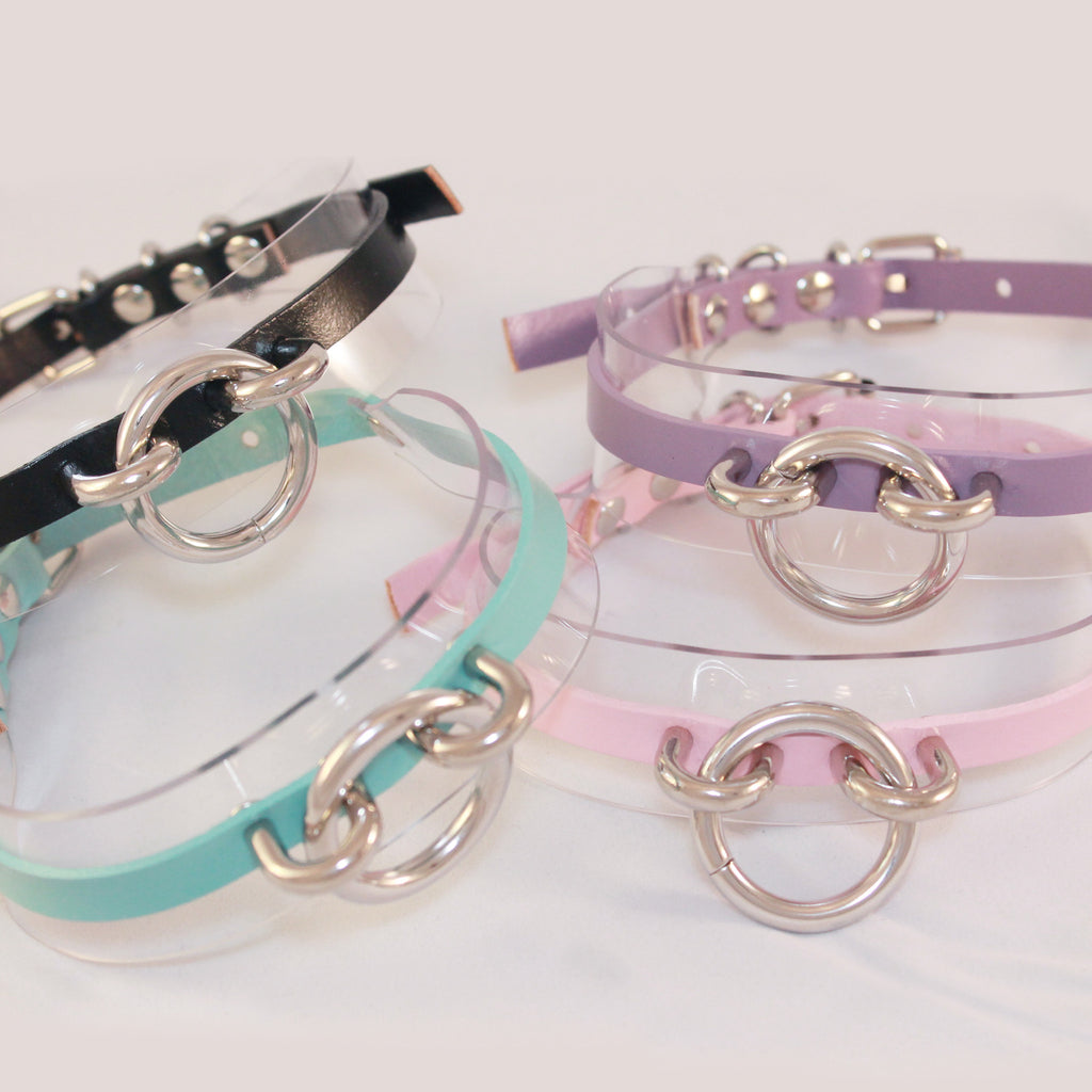 BABY-GIRL-PASTEL RING CHOKER