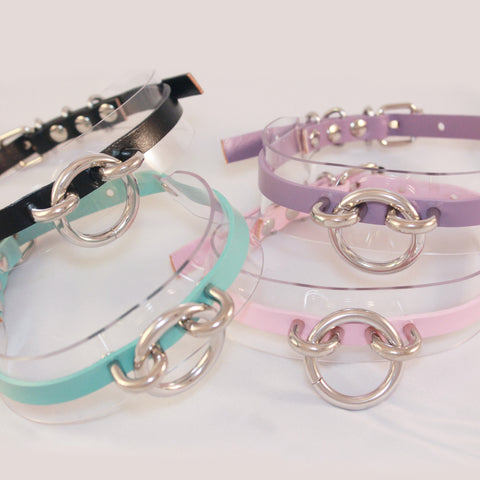 2 YEAR ANNIVERSARY SALE-BABY-GIRL-PASTEL RING CHOKER