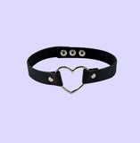 2 YEAR ANNIVERSARY SALE - Vegan Heart ring choker