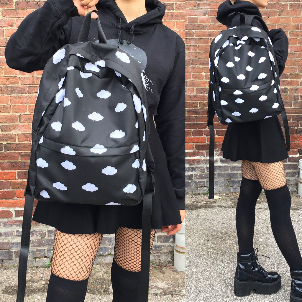 FROM HEAVEN GOTH CLOUD GRUNGE BACKPACK - SWEATSHOP-FREE MADE IN USA