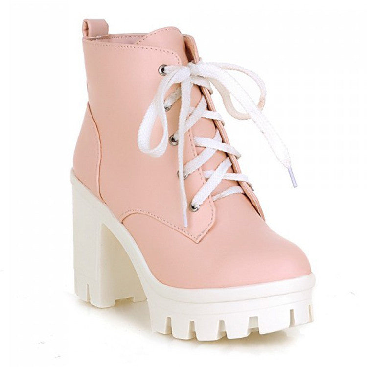 2 YEAR ANNIVERSARY SALE-CRYBABY PINK KAWAII BOOTS