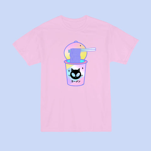 2017 BLACK FRIDAY-Alien Cat cup ramen Unisex Tee