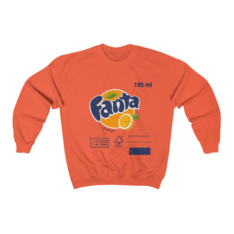 PROMOTION- Fall/Winter 2020 new fanta orange Unisex Sweatshirt ( S TO 2XL )