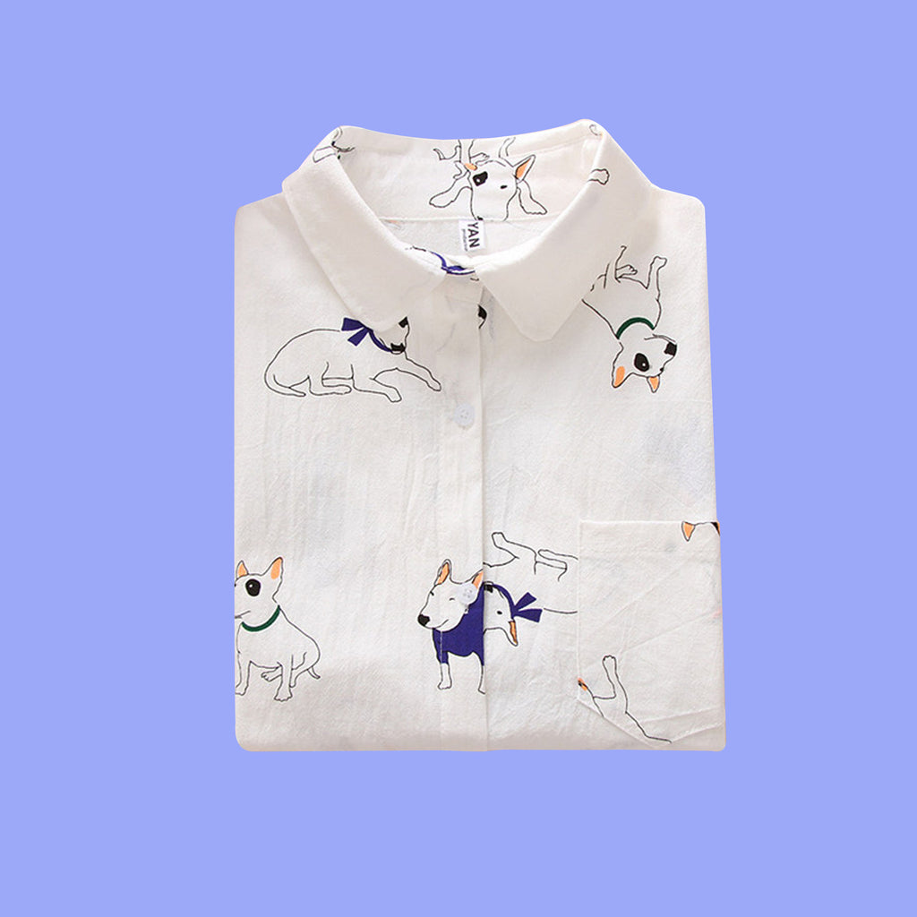 KAWAII-DOG Blouse
