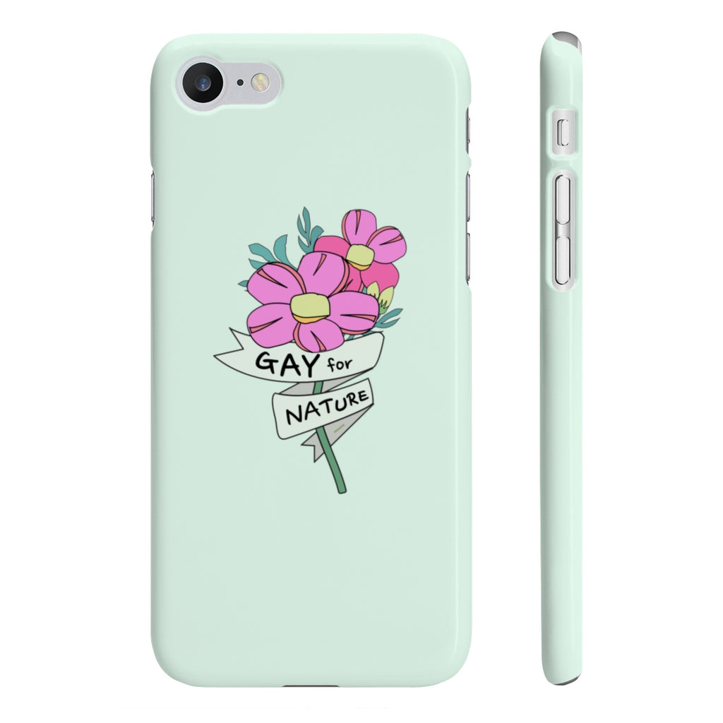 KOKO-LOVE IS LOVE Collection Gay for Nature Phone Case