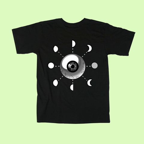 EYEBALL MOON UNISEX TEE