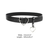 KWAII GOTH HEART BELT