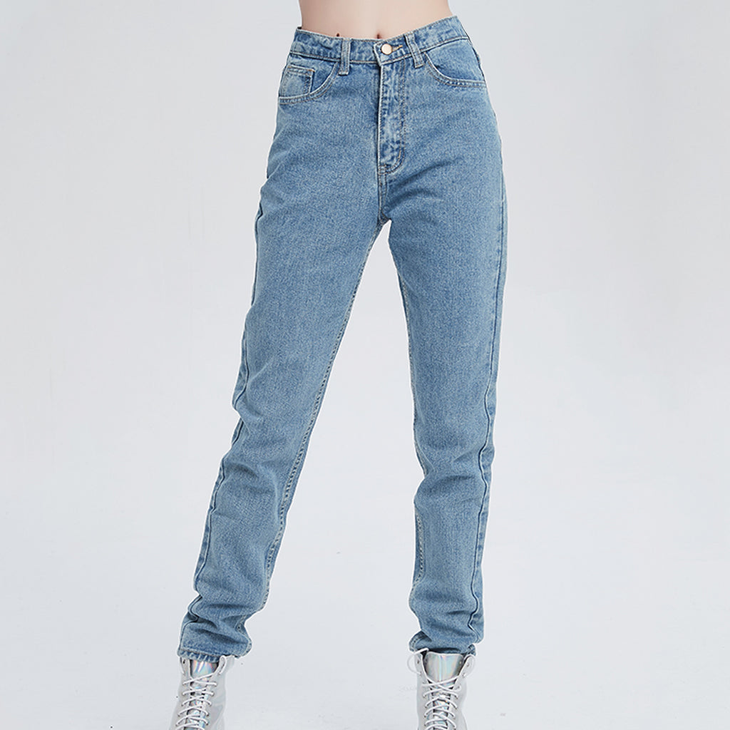 DENIM GRUNGE 90S HIGH WAIST