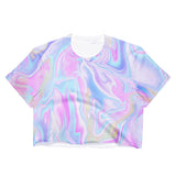 HOLO CROP TOP -MADE IN USA (SWEATSHOP-FREE)