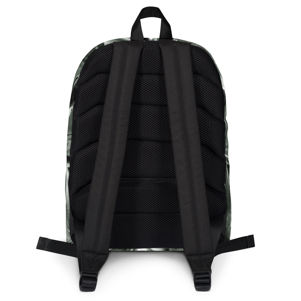 5016d1d336 ... BLACK HOLO MARBLE TUMBLR SOFT GRUNGE BACKPACK - SWEATSHOP-FREE MADE IN  USA ...